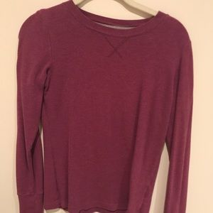 Nike maroon thermal T